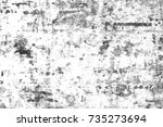 grunge surface background of... | Shutterstock . vector #735273694