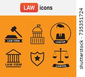 icon solicitor advocacy. lawyer