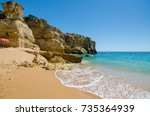 View Of Limestone Cliffs Of Th...