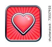 vector illustration of heart... | Shutterstock .eps vector #73537933