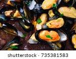 Mussels  Molluscs  Seaweed  Sea ...