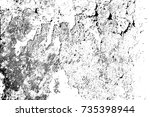 distress urban used texture.... | Shutterstock .eps vector #735398944