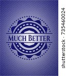 much better denim background | Shutterstock .eps vector #735460024