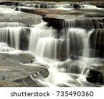 Small photo of Lakhaniya Dari Water Fallong exposure effect