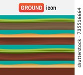 soil ground vector. different...