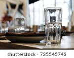 the beginning of the banquet.... | Shutterstock . vector #735545743
