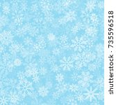 blue frost effect vector...   Shutterstock .eps vector #735596518