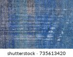 grunge blue and gray background. | Shutterstock . vector #735613420