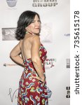 Small photo of Deborah Ramaglia attends Red Carpet Halloween Hotness 4: Heating Up For the Cure at American Legion Post 43, Los Angeles, California on October 10th 2017
