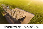 Small isolated bleacher at...