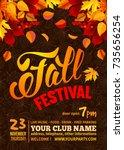 Fall Festival Flyer Or Poster...