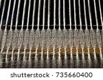 Small photo of Woven Cotton on a Rigid Heddle Loom