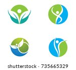 Healthy Life Logo Template...