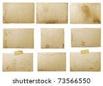 old photo paper texture... | Shutterstock . vector #73566550