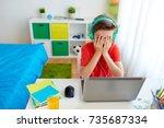 technology  gaming ... | Shutterstock . vector #735687334
