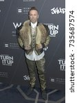 Small photo of New York, NY - October 21, 2014: Legendary Damon attends the W Hotels TURN IT UP FOR CHANGE Ball at W Union Square