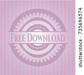 free download pink emblem....