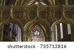 england  bristol   oct 8  2017  ... | Shutterstock . vector #735712816