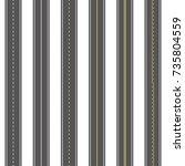 asphalt roads seamless texture...   Shutterstock .eps vector #735804559