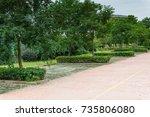 parking | Shutterstock . vector #735806080