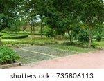 parking | Shutterstock . vector #735806113