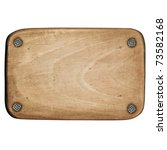 Wooden Plaque Attached With...