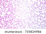light pink vector illustration... | Shutterstock .eps vector #735824986