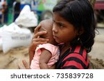 cox's bazar  bangladesh ...   Shutterstock . vector #735839728