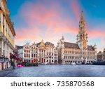 belgium | Shutterstock . vector #735870568