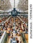 lisbon  portugal   august 12 ... | Shutterstock . vector #735906190