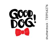 Good Dog  Brush Lettering With...