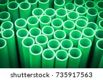 industrial background with...   Shutterstock . vector #735917563
