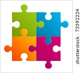 Puzzle Vector Illustration. Ep...