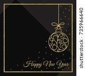 vector illustration of happy...   Shutterstock .eps vector #735966640