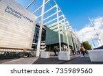 london  uk   5 october 2017 ... | Shutterstock . vector #735989560