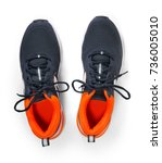 New Running Shoe Isolated On...