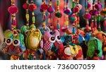 hanging doll | Shutterstock . vector #736007059
