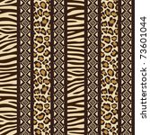 African Style Seamless Pattern...