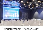 conference hall. collection.... | Shutterstock . vector #736028089