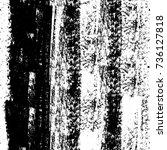 seamless grunge black white....   Shutterstock . vector #736127818