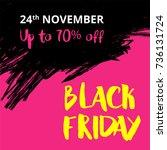 vector illustration for black... | Shutterstock .eps vector #736131724