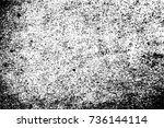 abstract dirty grunge texture  | Shutterstock .eps vector #736144114