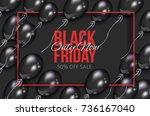 vector realistic banner  poster ... | Shutterstock .eps vector #736167040