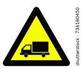 warning signs | Shutterstock .eps vector #736180450