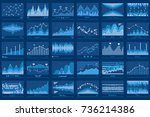 business data report financial...   Shutterstock . vector #736214386