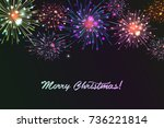 vector holiday colourn... | Shutterstock .eps vector #736221814