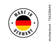 """""""made in germany"""" badge with... 