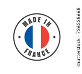 """made in france"" badge with... 