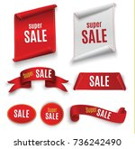 big sale banner.super sale... | Shutterstock .eps vector #736242490