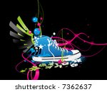 varicolored vector background...   Shutterstock . vector #7362637